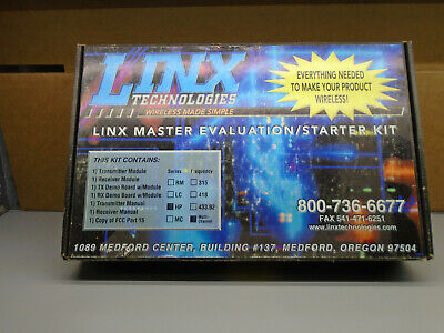 Linx Technologies wireless made simple linx master evaluation starter kit