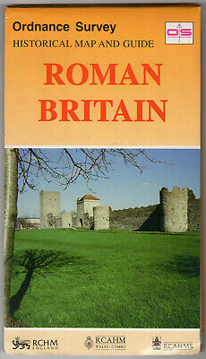 Ordnance Survey Historical Map and Guide Roman Britain ISBN 0-319-29027-1
