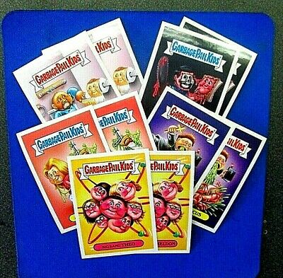 TOPPS 2016 GPK Prime Slime Trashy TV Fall Preview Complete 10 Card Set