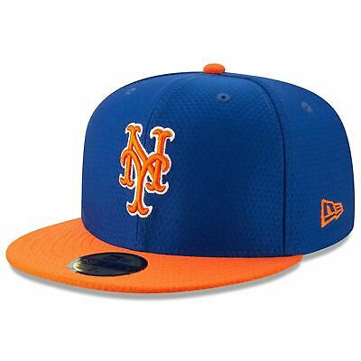 [11900028] Mens New Era MLB 2019 Batting Practice 59FIFTY Fitted New York Mets