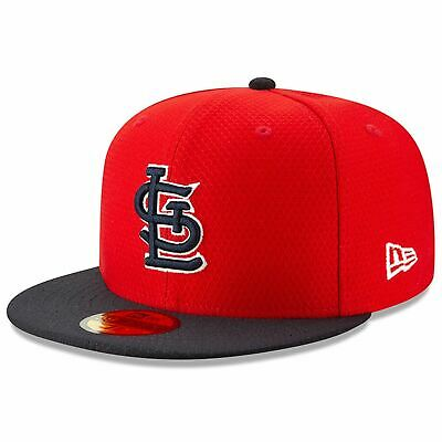 Mens New Era MLB 2019 Batting Practice 59FIFTY Fitted St. Louis Cardinals