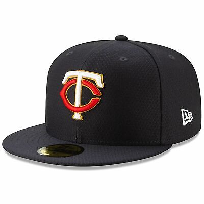 [11900030] Mens New Era MLB 2019 Batting Practice 59FIFTY Fitted Minnesota Twins