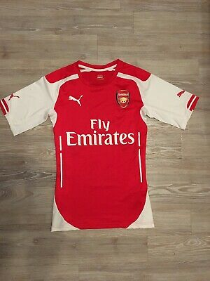 14/15 ARSENAL Player Issue Home Shirt Men's Size Medium
