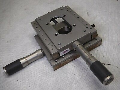 Used Newport Klinger Micro-Controle Manual Linear Translation Stage H10