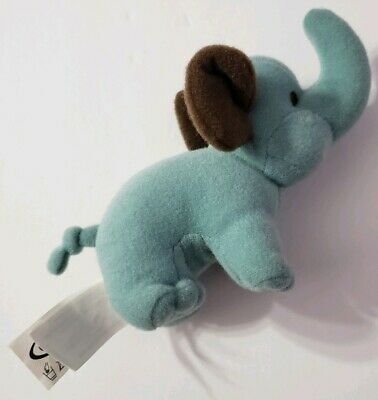 """Graco Pack N Play Playard Replacement Blue Elephant 6"""" Plush Only Baby Play Yard"""