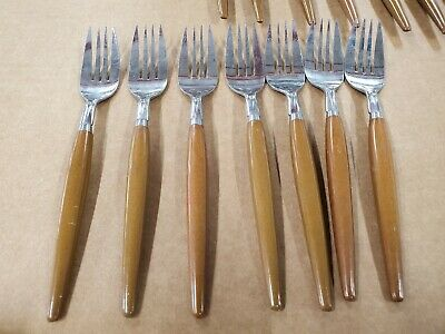 🔵 23 Interpur INR2 Stainless Flatware Japan Mid Century Modern ASSORTMENT