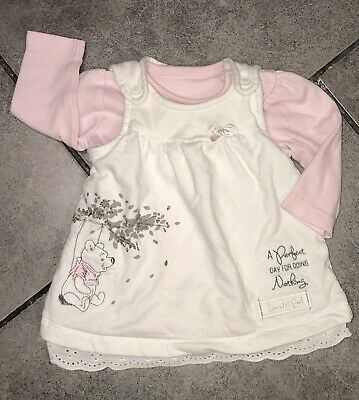 Disney Baby Girls Dress 0-3 M (newborn) Winnie The Pooh