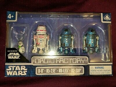 Disney Parks 4 Pack Droid Factory Star Wars The Rise Of Skywalker New In Box