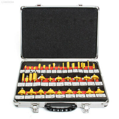 35 Pcs/Set Woodworking Rotary Tool Wood Drill Bits Portable Shank Router Bit