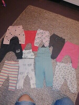 baby girl clothes 3-6 months bundle Mothercare, Next, H&M