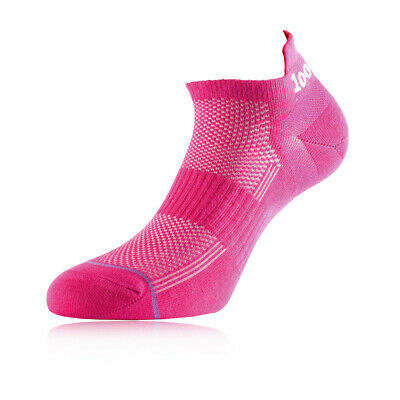 1000 Mile Micro Womens Pink Anklet Gym Running Walking Sports Socks New