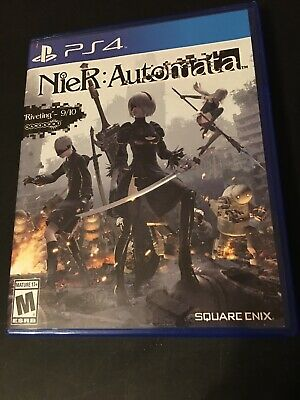 PS4 Playstation 4 Nier Automata Game Used Once