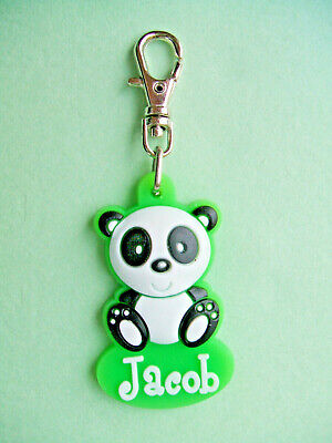 PERSONALISED ZIPPER PALS (BOY) - JACOB - Keyring, charm, zip puller