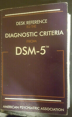 Desk Reference To The Diagnostic Criteria From Dsm 5  Free Ship