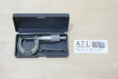 Mitutoyo Outside Micrometer 0-25mm 0.01mm , Made in Japan