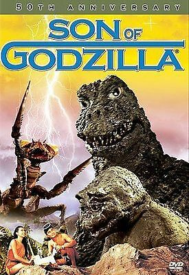 VERY GOOD and AUTHENTIC Son of Godzilla (DVD, 2004)