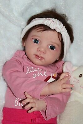 Reborn Baby Doll Toddler Fritzi by Karola Wegerich 24 inches