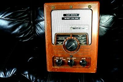 VINTAGE PEARCE SIMPSON MODEL 130 A SHIP 2 SHORE RADIO ( as is untested)
