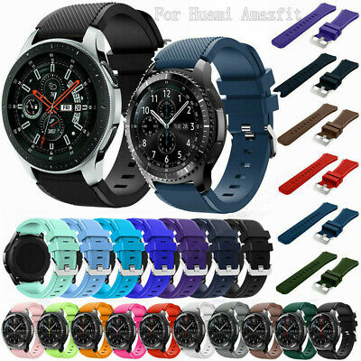 Silicone Bracelet Watch Band Strap For Huami amazfit 3/GTR 47MM/2 Stratos/pace