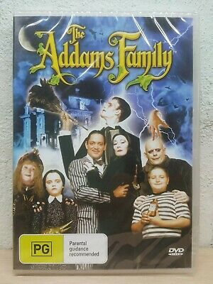 The Adams Addams Family DVD - SHIPS SAME / NEXT DAY SYDNEY