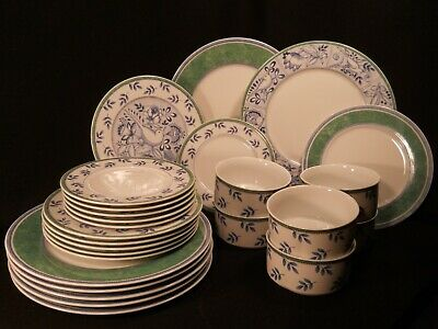 Villeroy & Boch Switch 3 Cordoba/Costa Dinner/Salad/Dessert Plates Cereal Bowls