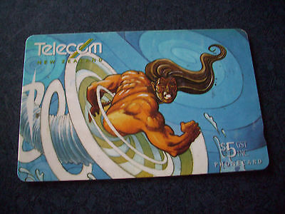 Phone card New Zealand Telecom Phonecard 1996 Father of the Winds