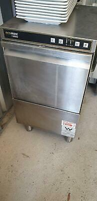 Commercial Ecomax 402-90 Glass Dishwasher