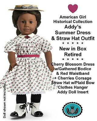American Girl Doll Addy/'s Summer~Flower Dress~1 PC~Free Shipping~Retired AG tag