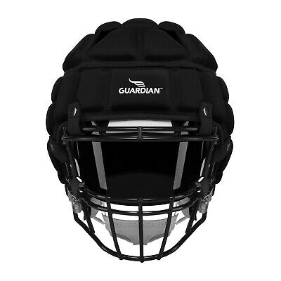Guardian Football Protective Cap Thick Shell Helmet Cover Padded Black BRAND NEW