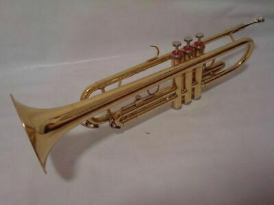 Professional Bb Gold Trumpet School Approved New