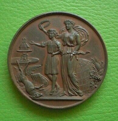 Antique 1893 Universal Cookery And Food Exhibition Medal / Medallion. Free Post.