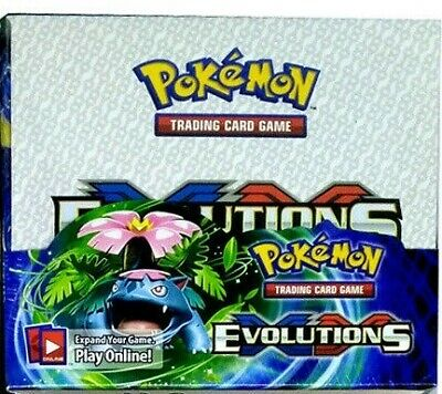 The Pokemon Evolutions Trading Card Game XY-Evolution 324 cards, 36 packs