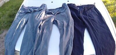 Train conductors uniform trousers X 3,1970or80's vicrail/victorian railways
