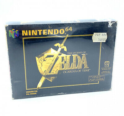 The Legend of Zelda Ocarina of Time - Nintendo 64 - CIB / Bon Etat / Cristal box