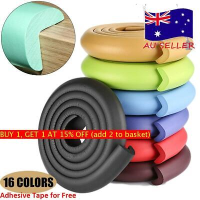 2/5M Table Edge Guard Strip Desk Corner Protector Foam Bumper Baby Safetys AU