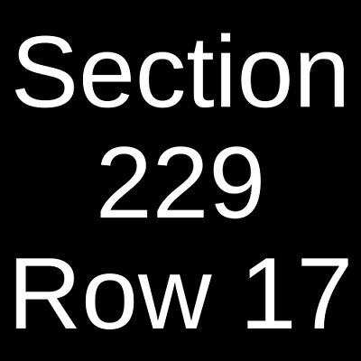 3 Tickets The Lumineers 2/8/20 Rocket Mortgage FieldHouse Cleveland, OH