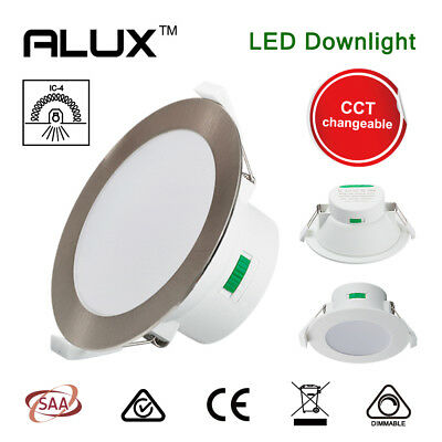 10W/12W/14W LED Downlight 70/90/120mm Cutout CCT Warm Cool White Dimmable IP44