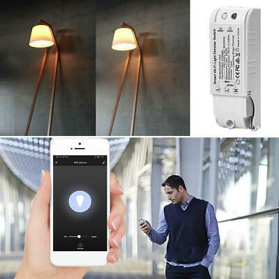 2.4GHz WiFi Smart Wall Light Dimmer Switch DIY Wireless Voice APP Remote Control