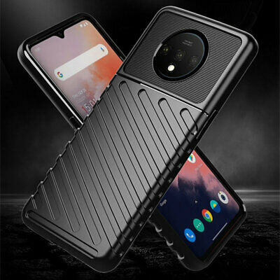 Ultra Thin Hybrid Armor Soft TPU Matte Case For OnePlus 7T Shockproof Back Cover