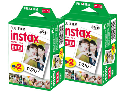 40 Shots Fuji Instax Mini Film for Fujifilm Mini 8 7s & Mini 90, 50 Cameras etc.