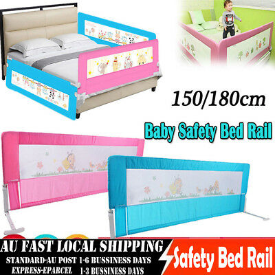 CHIC Pink/Blue Safety Bed rail/BedRail Cot Guard Protection Child toddler Kids