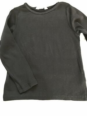 Copy of Age 3-4 H&M Black Long Sleeve Top