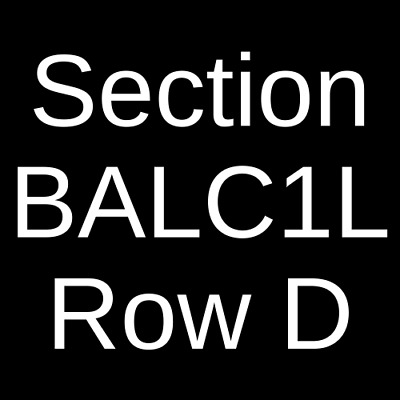 2 Tickets Hozier 11/4/19 The Chicago Theatre Chicago, IL