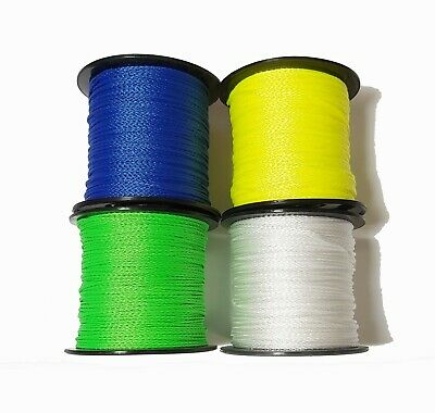 BLUE whipping twine 200m spool 1mm 3 ply multifilament polypropylene rigging