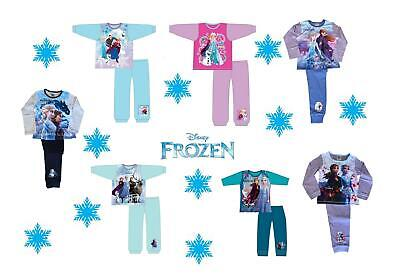 Girls Frozen Pajamas Disney Character Elsa Anna Pyjamas