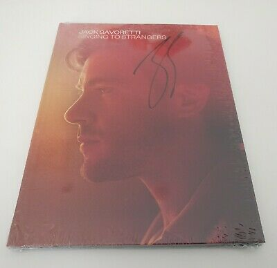 Signed Jack Savoretti Singing To Strangers CD Deluxe - new, sealed  & un-played