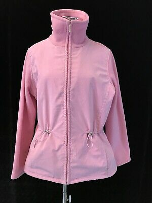Ladies Womens Fleece Sports Track Top Long Sleeve Size 14 Duchcamp