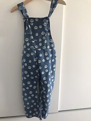 Adorable 'Peace' Dungarees size 3-4