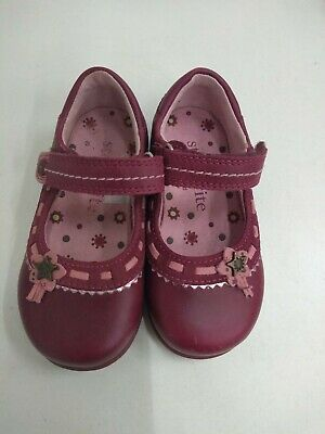 Startrite Baby Girls Pink Shoes Size Infant 4 1/2 F