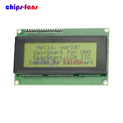 3.3V 20x4 Character Yellow LCD Module Display,HD44780,High Contrast,Arduino